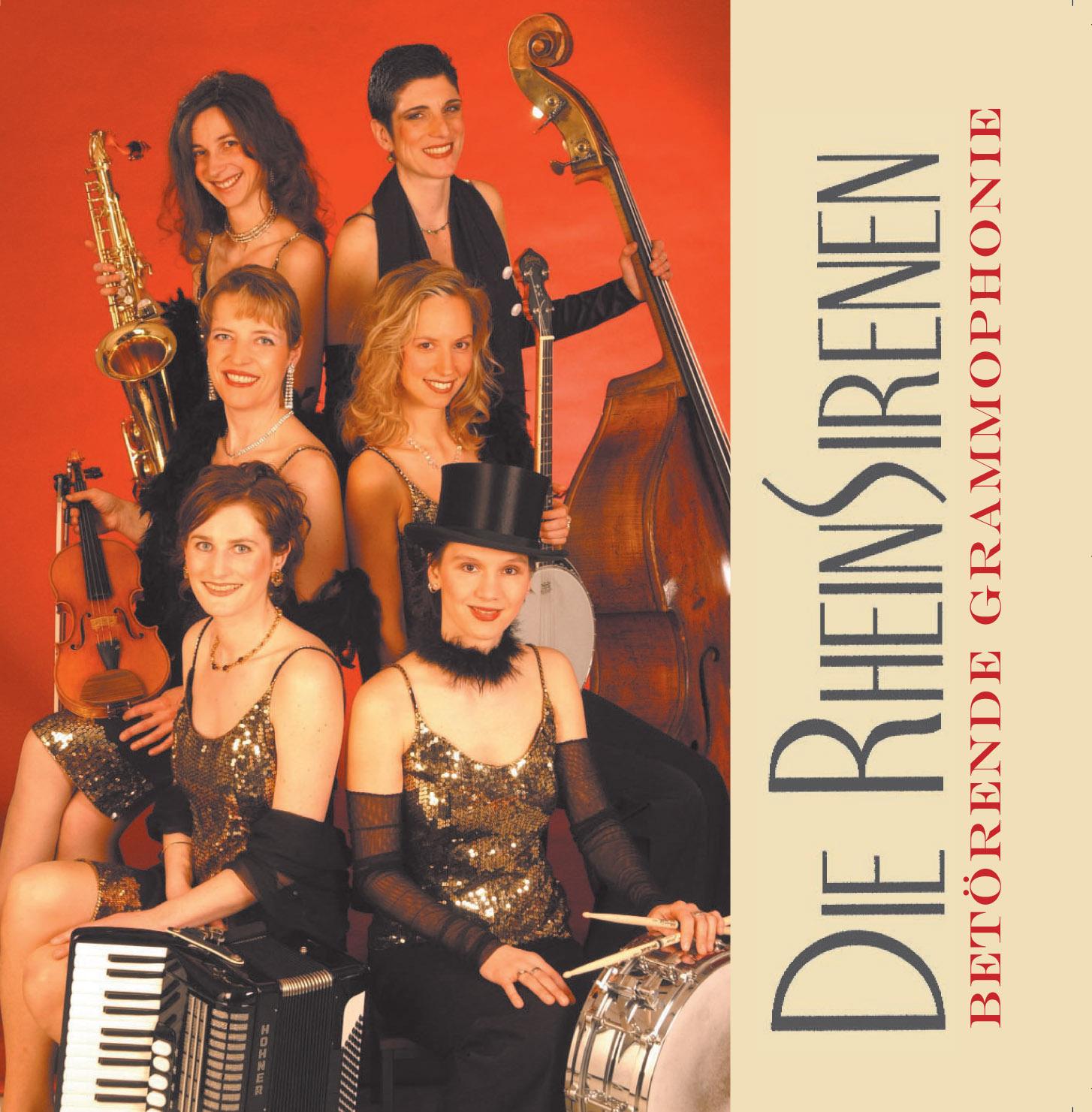 CD-Cover Die Rheinsirenen Betörende Grammophonie